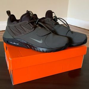 MENS NIKE AIRMAX TRAINER 1 LEATHER BLACK SIZE 11.5